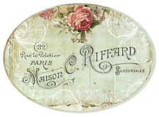 VinTaGe IMaGe FRenCh RoSe LaBeLs ShaBby WaTerSLiDe DeCALs