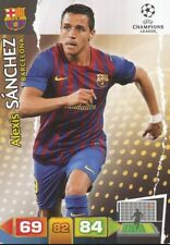 ALEXIS SANCHEZ CHILE FC BARCELONA CARD ADRENALYN CHAMPIONS LEAGUE 2012 PANINI