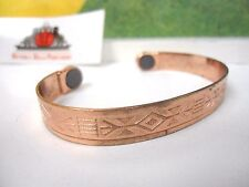 COPPER MAGNETIC BRACELETS , HELPS NECK, BACK,and  WRISTS ARTHRITIS PAIN