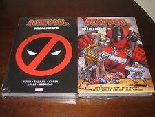 Deadpool Minibus 1 & 2 Sealed X-men Omnibus Marvel Comics