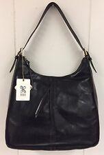 Hobo Bags Marley Genuine Leather Black Purse Handbag Shoulder Bag Retail $248