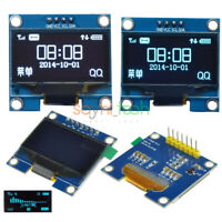 "1.3"" IIC I2C OLED LCD 128X64 Serial Display Screen Module Blue/White For Arduino"