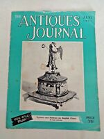 Antiques Journal 1951 Cameo Glass Flow-Blue China Wedgwood Vases Pistor Pistols