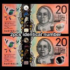SET 2019 AUSTRALIA 20 DOLLARS DD/DE19 1683597 POLYMER P-NEW> > >IDENTICAL NUMBER