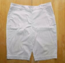 WOMENS SHORTS w/side elastic for comfort = CHICO'S = SIZE 3 = de23