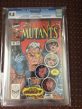 New Mutants 87 CGC 9.8  1st Cable