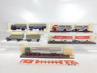 CA357-1# 5x Brekina 1:87/H0 LKW MB: 8105+4400+5710+57204+7626, s.g.+OVP