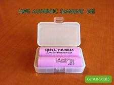 2x Samsung 35E 3500mAh 10A 18650 High Drain Rechargeable Battery INR18650-35E