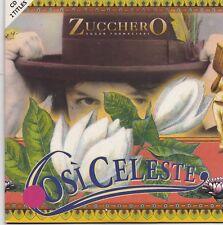 Zucchero Fornaciari-Cosi Celeste cd single