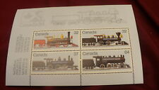1039a  Scott  Canada philatelic Ex 1984  postage mini pane MNH #507