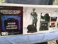 Halloween LifeSize Animated CREEPER REAPER CAULDRON Prop Haunted House NEW
