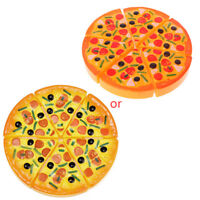 6PCS Kids Baby Pizza Party Fast Food Cooking Cutting Pretend Play Set Toy Gifts