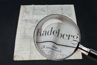 alte Karte über Radeberg Dresden Sachsen old vintage Sammler
