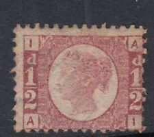 """GB QV 1870-8 ½d Bantam SG48/49 Plate 3 Letters """"AI"""" - Very lightly mounted mint"""