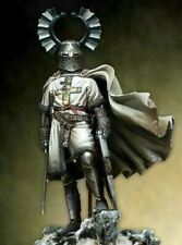 Scale 1/18 90mm ancient Teutonic Knight   Figure Resin
