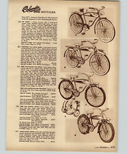 1957 PAPER AD Columbia Balloon Tire Bicycles AMF Pedal Cars Tractor JJet Ace ++