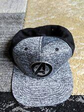 Avengers Marvel Grey/Black Snapback Cap Hat