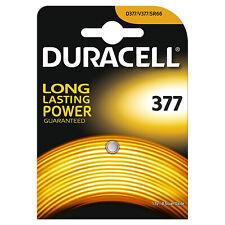 50 x Duracell 377 1.5v Silver Oxide Watch Battery Batteries SR626SW AG4 626 D377