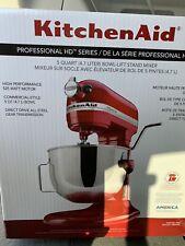 KitchenAid Pro Line Professional HD Series 5 Quart Empire Red