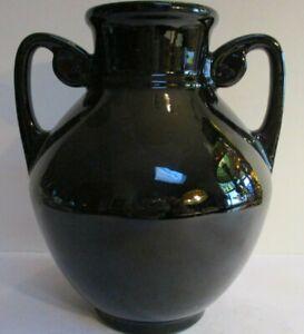 Roseville Rosecraft Black 311-7 Vase