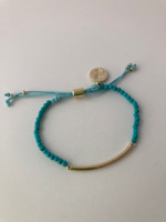 Turquoise Power Beads Gemstone Bracelet: Calm and Stability, Healing