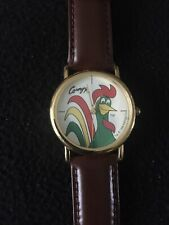NEW 90s Kelloggs Corn Flakes Watch Corny Rooster Advertising-  Never Worn
