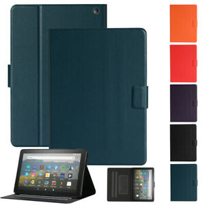 "For Amazon Kindle Fire HD 7"" 8"" 10"" Tablet 2020 -2015 Leather Case Smart Cover"