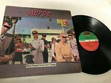 AC/DC Dirty Deeds Done Dirt Cheap Metal Record lp original vinyl album
