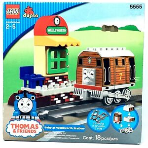 LEGO duplo 5555 Toby at Wellsworth Station - Thomas & Friends - Sealed - New