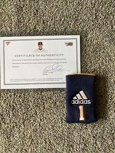 Carlos Correa 2017 Houston Astros Game Used /Issued Adidas Wristband SIGNED COA