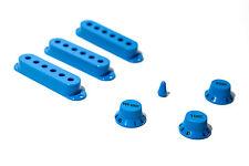 Set de cubiertas, botones y tip azules - Blue knobs, tip and covers set 50/52mm