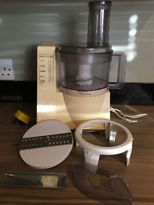 Vintage Moulinex Masterchef 15 food processor Mixer + attachments Fully Working