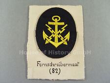 T&S: Kriegsmarine: Armabzeichen für Fernschreibermaat / Fernschreibmaat, 57317