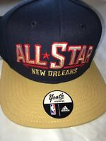 NEW Adidas Youth 2014 NBA All Star Game New Orleans Embroidered Snapback Hat