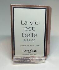Lancome La Vie Est Belle L'Eclat L'eau De Toilette Sample 1.2ml 0.04oz NEW