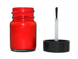 Fluorescent Red Automotive Gauge Cluster Needle Paint Bottle with Brush