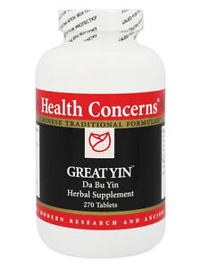Health Concerns, Great Yin, Economy Size, 270 ct