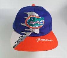 University of Florida Gators Hat Cap Football Kudzu Snapback Blue Orange Vtg