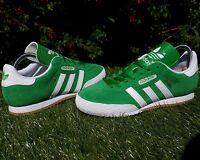 BNWB & Genuine adidas originals Samba Super Green Suede Trainers Various Sizes