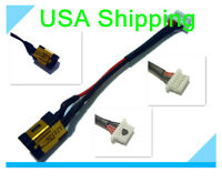 DC Power Jack in cable harness for SAMSUNG 900X NP900X3A-A01US NP900X3A-A10US