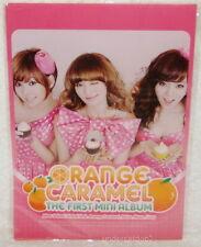 After School Orange Caramel 1st Mini Album Taiwan Promo Folder (ClearFile)