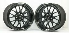 "2 x Rota MXR Drift Skid Wheels 18"" Alloys BMW 3 Series E46 E36 E90 F30 M3 5x120"