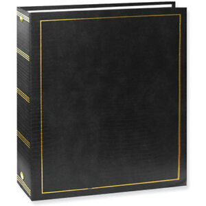 Pioneer LM-100 Magnetic 3-Ring Photo Album Black (Same Shipping Any Qty)