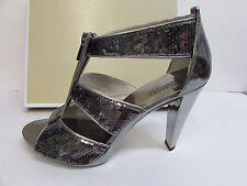 Michael Kors Size 10 M Gun Metal Sequins Heels New Womens Shoes