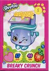 Topps Shopkins Series 1-4 Trading Cards Base Card #35 Breaky Crunch