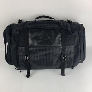 Mens Oakley Link Duffel - Travel Gym Bag Black EUC