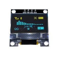 "0.96"" Yellow Blue 128X64 OLED I2C IIC Serial LCD LED Display Module for Arduino"