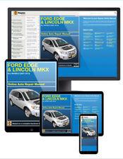 2013 Ford Edge Haynes Online Repair Manual-14 Day Access