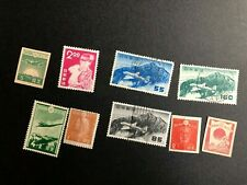 japan airmail stamps collection c1174