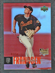 2006 UD Special F/X Red Refractor RC #977 Kevin Frandsen #/50 SF Giants